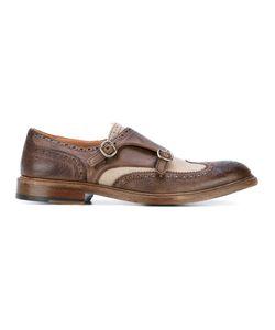 Al Duca D'Aosta | 1902 Panelled Monk Shoes