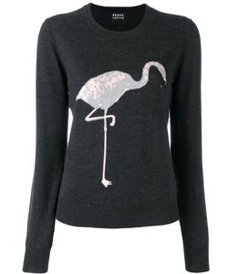 Markus Lupfer | Sequin Flamingo Sweater Size Small