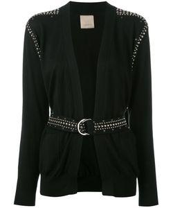 Laneus | Studded Belted Cardigan Size 44