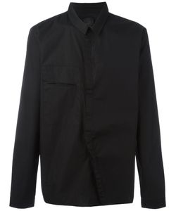 Thom Krom | Off-Centre Fastening Shirt Large Cotton