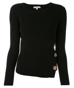 Each X Other | Ribbed Knit Buttoned Sweater