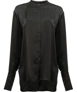 Ilaria Nistri | Collarless Shirt 42 Viscose