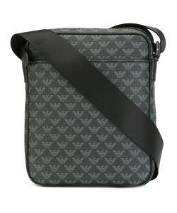 Emporio Armani | Logo Embossed Messenger Bag Calf