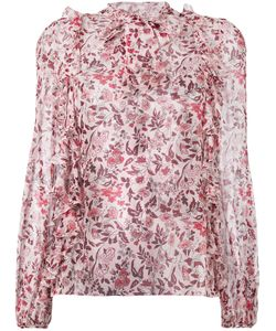Giambattista Valli | Printed Frill Trim Blouse