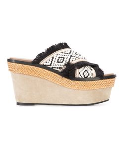 Barbara Bui | Crisscross Strap Platform Sandals Size 35