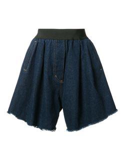 Natasha Zinko | Wide Denim Shorts 38 Cotton/Polyester/Polyamide