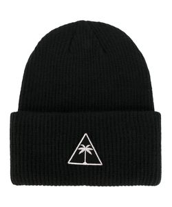 Palm Angels | Logo Patch Beanie Hat