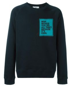 Andrea Pompilio | Patch Crew Neck Sweatshirt 48 Cotton