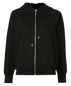 Sonia Rykiel | Patches Sleeves Zipped Hoodie Xs Cotton