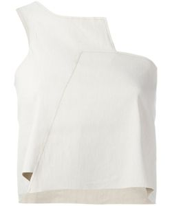 Charlie May | Asymmetric One Shoulder Top Size 6