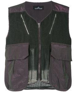 Stone Island Shadow Project | Mesh Panel Gilet