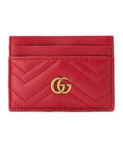 Gucci | Gg Marmont Chevron Card Case
