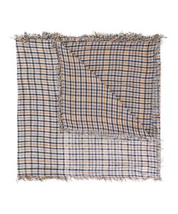 Undercover | Checked Frayed Scarf One