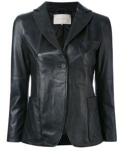 L'Autre Chose | Leather Blazer Women 40