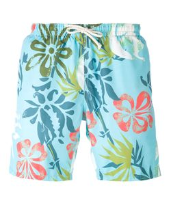 Drumohr | Printed Drawstring Swim Shorts