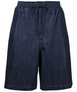 Juun.J   Drawstring Waist Shorts 46 Cotton/Polyurethane