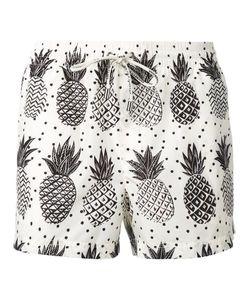 Dolce & Gabbana | Pineapple Print Swim Shorts