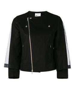 Comme Des Garçons Noir Kei Ninomiya | Caped Mesh Biker Jacket