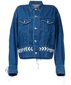 G.V.G.V. | G.V.G.V. Denim Shoe Lace Up Jacket Women
