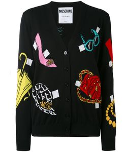 Moschino | Multi-Pattern V-Neck Cardigan 48