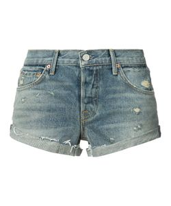 Grlfrnd   Distressed Denim Shorts 26