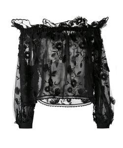 Alberta Ferretti   Embroidered Off The Shoulder Top