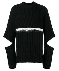 Helen Lawrence | Split Sleeve Jumper Large Polyamide/Mohair/Wool/Lambs Wool