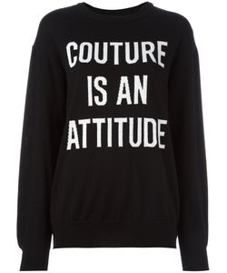 Moschino | Loose Fit Jumper Large Virgin Wool
