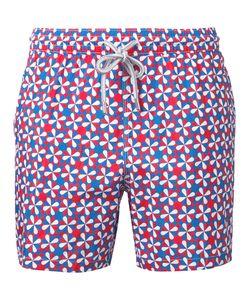 Capricode | Printed Swim Shorts Men M