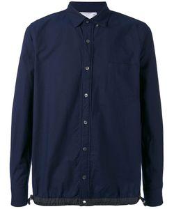 Sacai | Drawstring Oxford Shirt 1