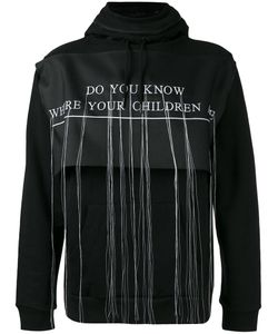 Hood By Air | Embroidered Hooded Sweatshirt