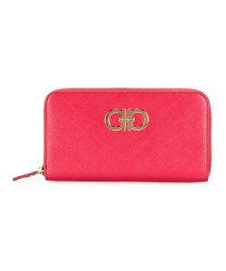 Salvatore Ferragamo | Double Gancio Zip Around Wallet Calf Leather
