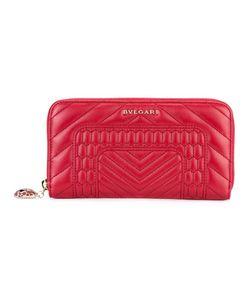 Bulgari | Zip Around Wallet Leather