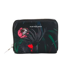 PS Paul Smith   Ps By Paul Smith Parrot Print Zip Around Wallet