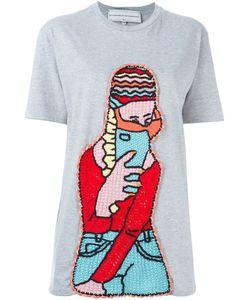 Michaela Buerger | Crochet Patch T-Shirt