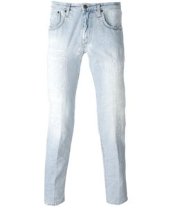 +People | People Distressed Slim Fit Jeans