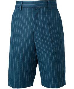 Umit Benan | Pinstriped Bermuda Shorts