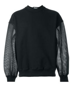 Christopher Shannon | Mesh Sleeve Sweatshirt