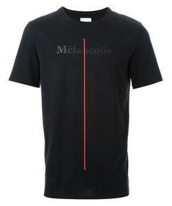 Cy Choi   Vertical Line Detail T-Shirt
