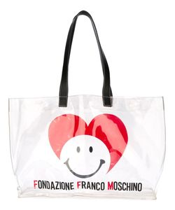 Moschino Vintage | Logo Heart Tote