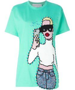 Michaela Buerger | Selfie Crochet Patch T-Shirt