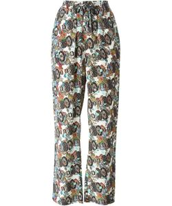 Jean-Paul Lespagnard | Graphic Print Trousers