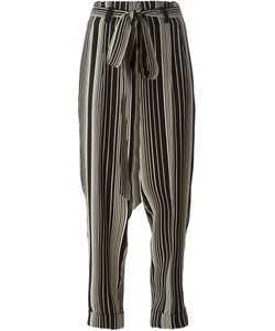 Petar Petrov | Stripe Print Tapered Trousers