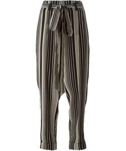 Petar Petrov   Stripe Print Tapered Trousers