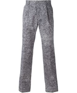Kris Van Assche | Printed Straight Leg Trousers
