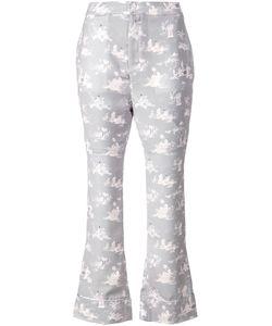 G.V.G.V. | Geisha Girl Print Cropped Trousers