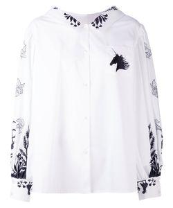 Vivetta | Printed Billow Sleeve Shirt