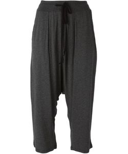 Lost And Found   Cropped Drawstring Trousers