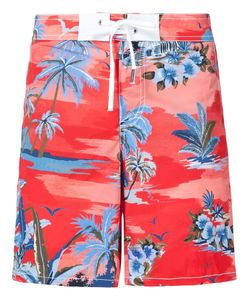 DSquared² | Palm Print Swim Shorts