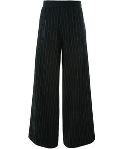 Minimarket | Pinstripe Wide Leg Trousers